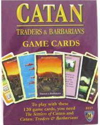 MFG3117-BARBARIANS AND TRADERS�  GAME CARDS