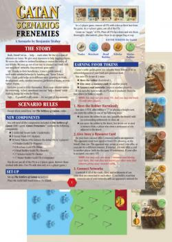 MFG3119-CATAN SCENARIO FRENEMIES/CATAN