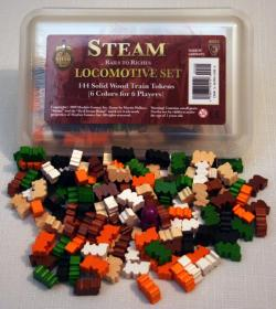 MFG45512-STEAM� - LOCOMOTIVE SET - WOODEN TRAINS
