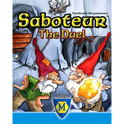 MFG5716-SABOTEUR THE DUEL CARD GAME
