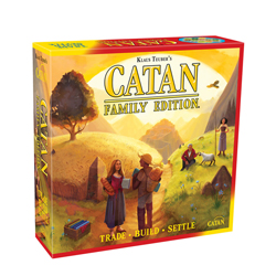 MFG73002-CATAN - FAMILY EDITION BOARD GAME�