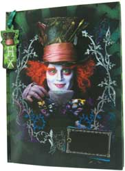 MG25219-JOURNAL & BOOKMARK MAD HATTER