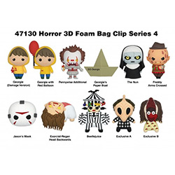 MG47130-3D FOAM FIGURAL BAG CLIP HORROR S4 (24)