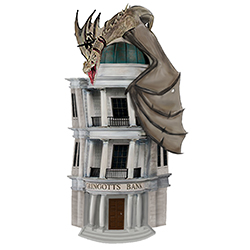 MG48259-HARRY POTTER BANK GRINGOTTS