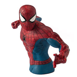 BUST BANK MVL SPIDER-MAN