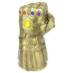 BUST BANK MARVEL GOLD INFINITY GAUNTLET