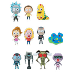 MG7400512CT-3D FOAM KR RICK & MORTY 12CT