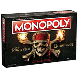 MON004123-MONOPOLY: PIRATES OF THE CARIBBEAN