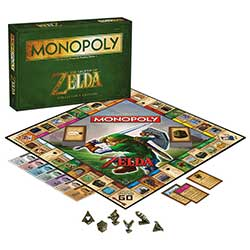 MON005394-MONOPOLY: THE LEGEND OF ZELDA