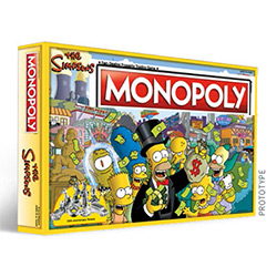MON006025-MONOPOLY THE SIMPSONS