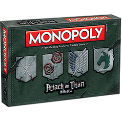 MON113446-MONOPOLY: ATTACK ON TITAN