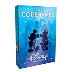 MONCE004000-CODENAMES DISNEY FAMILY ED