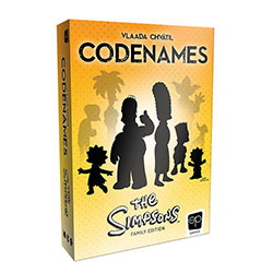 MONCE006025-CODENAMES SIMPSONS