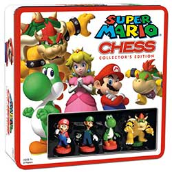 CHESS SET SUPER MARIO (TIN)(6)