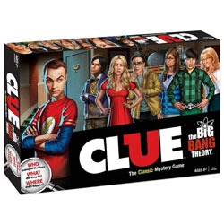 MONCL010371-CLUE: THE BIG BANG THEORY