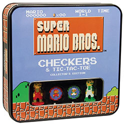 MONCM005435-TIC TAC TOE/CHECKERS: SUPER MARIO BROS CLASSIC