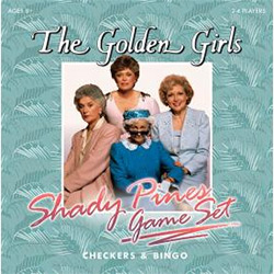 MONCM118506-CHECKERS/BINGO GOLDEN GIRLS