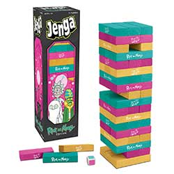 MONJA085434-JENGA RICK & MORTY EDITION