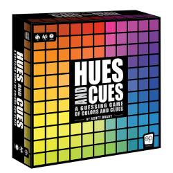 MONPA135725-HUES AND CUES PARTY GAME
