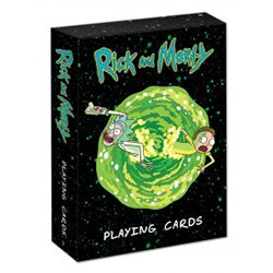 MONPC085434-PLAYING CARDS: RICK & MORTY