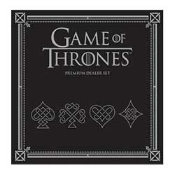 MONPC104375-PLAYING CARDS PREMIUM GAME OF THRONES SET