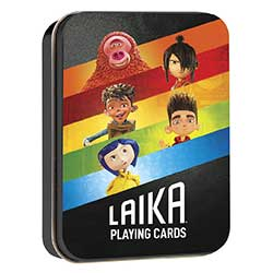 MONPC132646-PLAYING CARDS TIN LAIKA