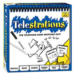 MONPG000264-TELESTRATIONS 8 PLAYER GAME