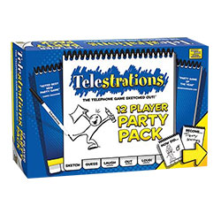 MONPG000318-TELESTRATIONS 12 PLAYER PARTY PACK GAME