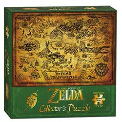 MONPZ005394-PUZZLES 550PC: THE LEGEND OF ZELDA HYRULE MAP