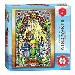 MONPZ005442-PUZZLES 550PC: THE LEGEND OF ZELDA WIND WAKER #2
