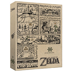 MONPZ005463-PUZZLES 1000PC: THE LEGEND OF ZELDA - LEGEND OF TH
