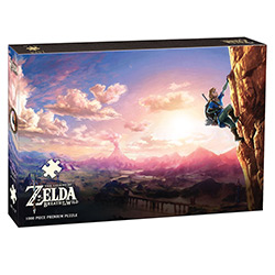 MONPZ005502-PUZZLES 1000PC: THE LEGEND OF ZELDA BREATH OF THE
