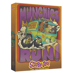 MONPZ010001-PUZZLE SCOOBY-DOO MUNCHIES RUN