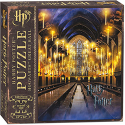 MONPZ010484-PUZZLES 550PC: HARRY POTTER AND THE GREAT HALL