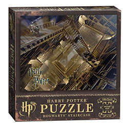 MONPZ010511-PUZZLES 550PC: HARRY POTTER STAIRCASE
