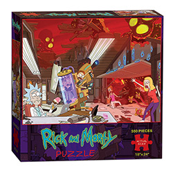 MONPZ085434-PUZZLES 550PC: RICK & MORTY