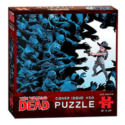 MONPZ095479-PUZZLES 550PC: THE WALKING DEAD COVER ART ISSUE 50