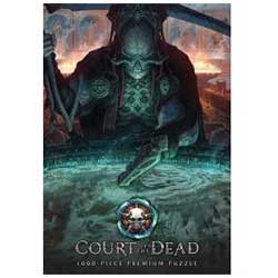 MONPZ121527-PUZZLES 1000PC: COURT OF THE DEAD THE DARK SHEPHER