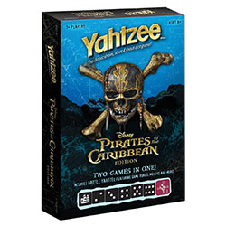 MONYZ004123-YAHTZEE: PIRATES OF THE CARIBBEAN BATTLE YAHTZEE