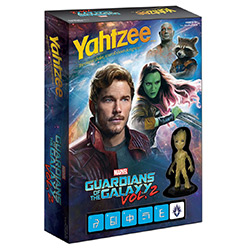 MONYZ011466-YAHTZEE: GUARDIANS OF THE GALAXY 2 BATTLE YAHTZEE