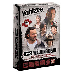 MONYZ116469-BATTLE YAHTZEE WALKING DEAD TV