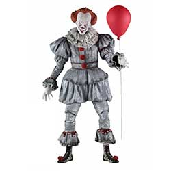 NE45459-IT PENNYWISE 1/4 SCALE FIG