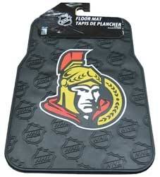 NWCMHOS-CAR MAT NHL SENATORS