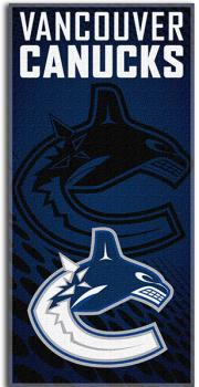 NWHBETO1VC-NHL BEACH TOWEL 30X60- CANUCKS