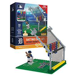 OYOBBCDT-MLB BATTING CAGE TIGERS