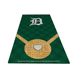 OYOBDPDT-MLB DISPLAY PLATE TIGERS