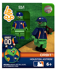 OYOBHAOR-MLB FIG ASTROS ORBIT MASCOTT