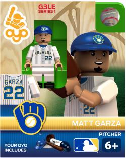 OYOBMBMG-MLB FIG BREWERS GARZA