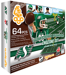 OYOCFLEZSR-CFL ENDZONE SET ROUGHRIDERS