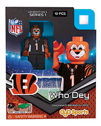 OYOFCIBWD-NFL FIG BENGALS WHO DEY M